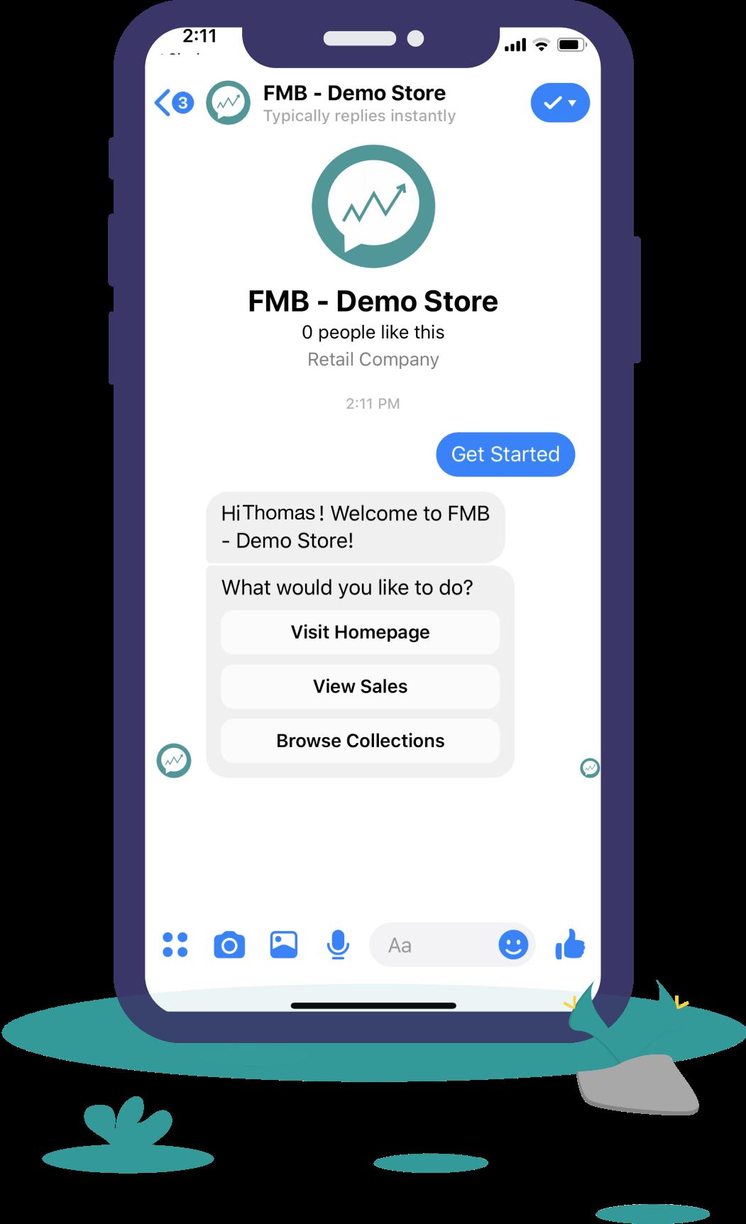Judge.me Facebook Messenger Bot - Marketing